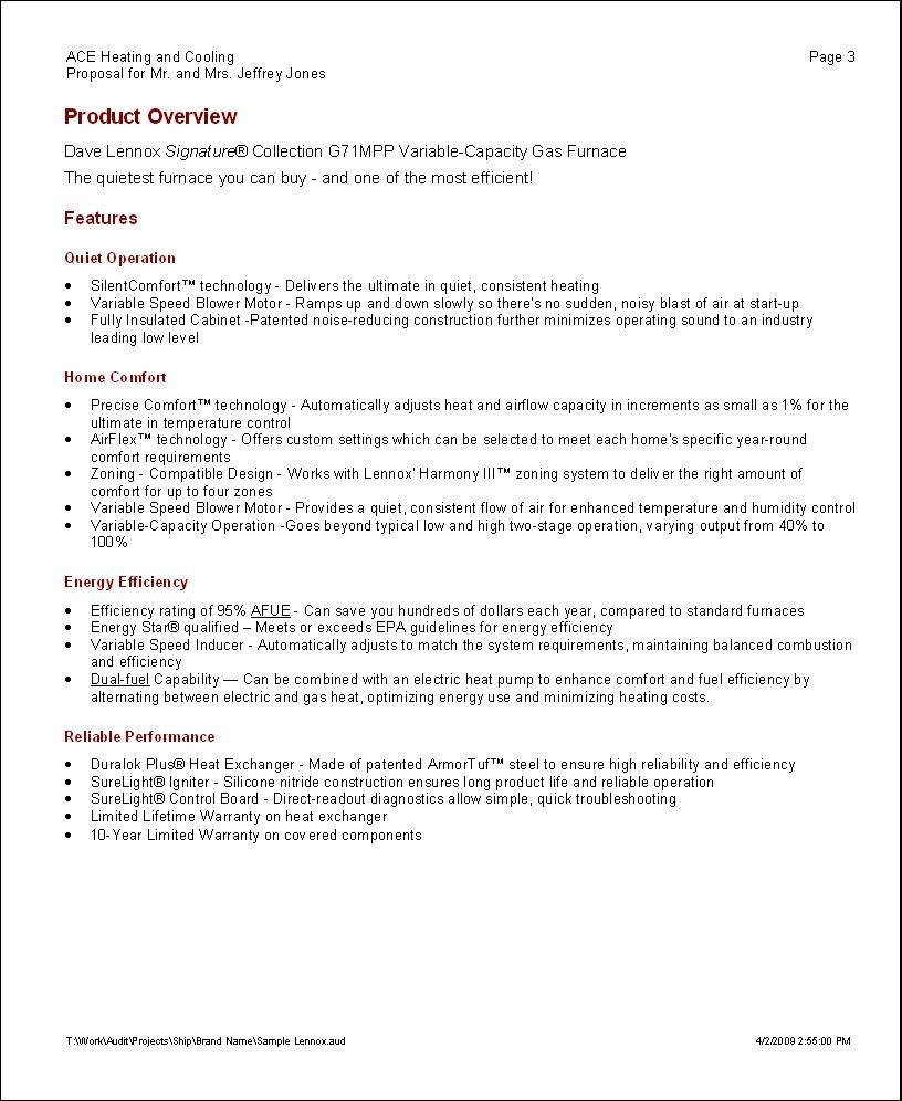 Elite Software  Proposal Maker with Plumbing Proposal Template Free