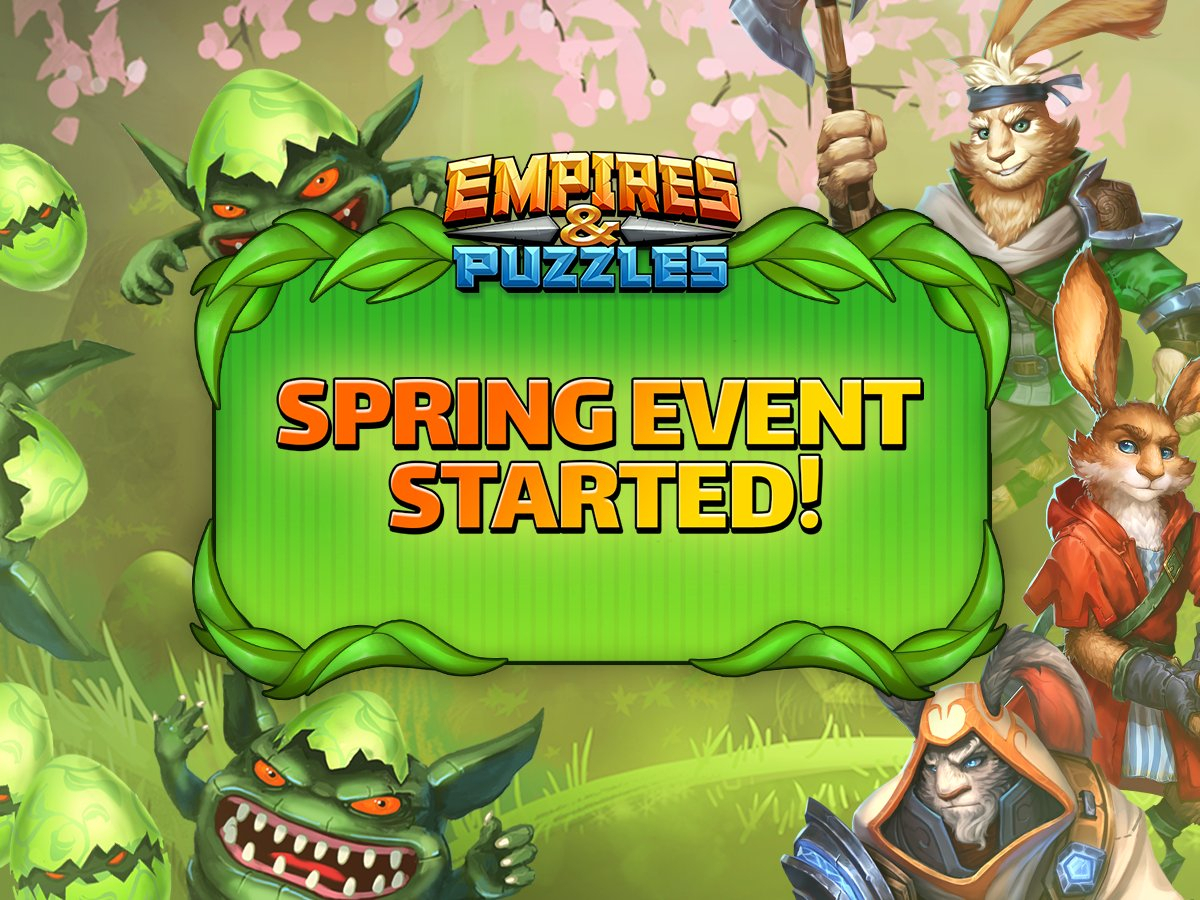 """Empires & Puzzles On Twitter: """"it's Time For The Yearly inside Springvale Empires And Puzzles"""
