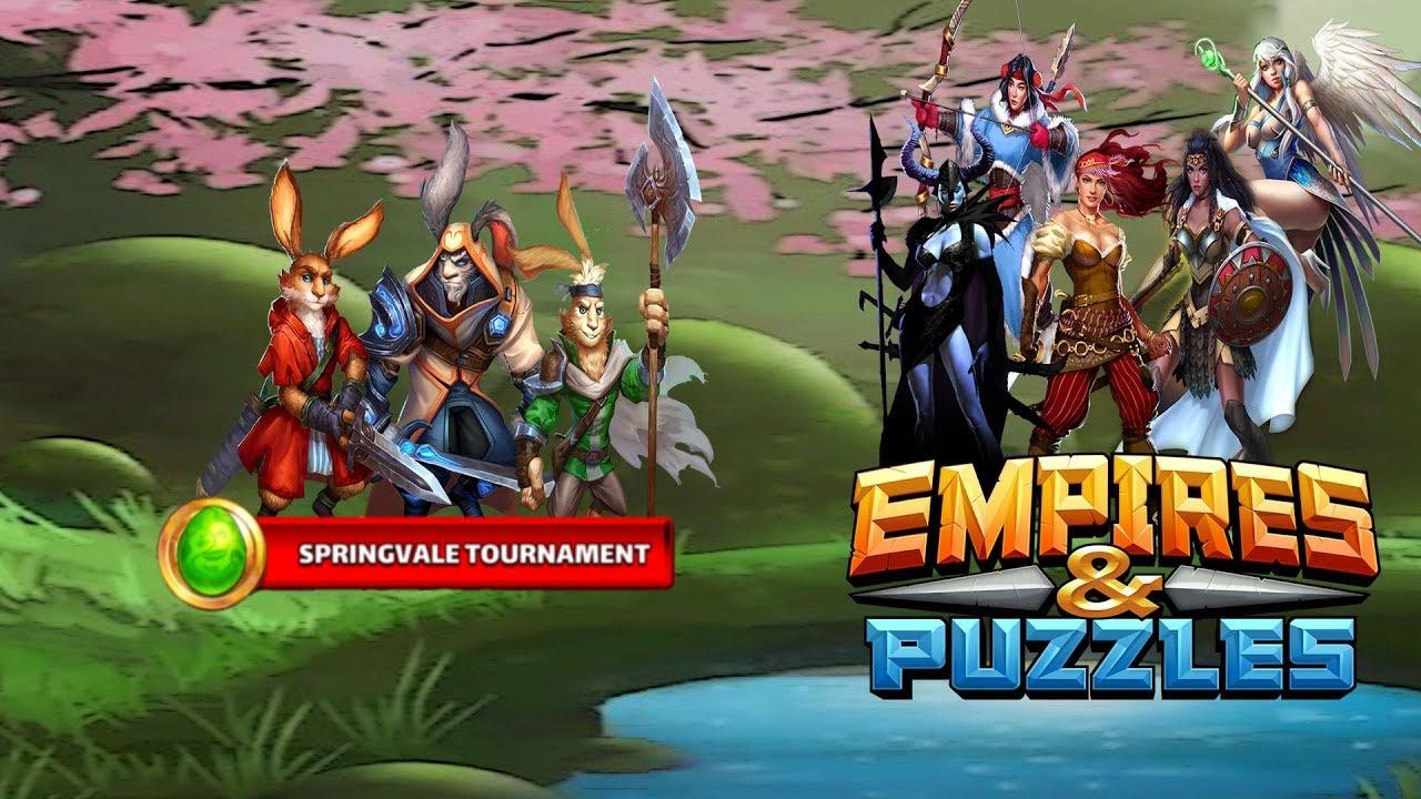 Empires & Puzzles  Springvale Tournament (Last Level, Advanced) with Springvale Empires And Puzzles