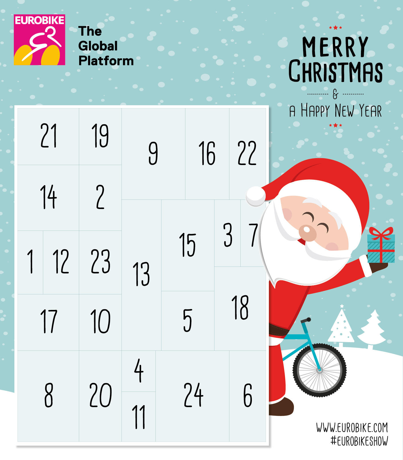 Eurobike Advent Calendar with regard to Advent Calendar WordPress Plugin