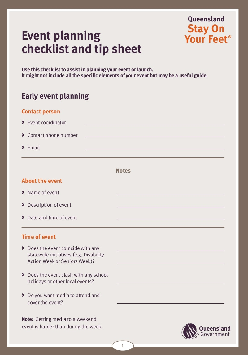 Event Checklist Format  Bolan.horizonconsulting.co throughout Conference Planning Template Excel