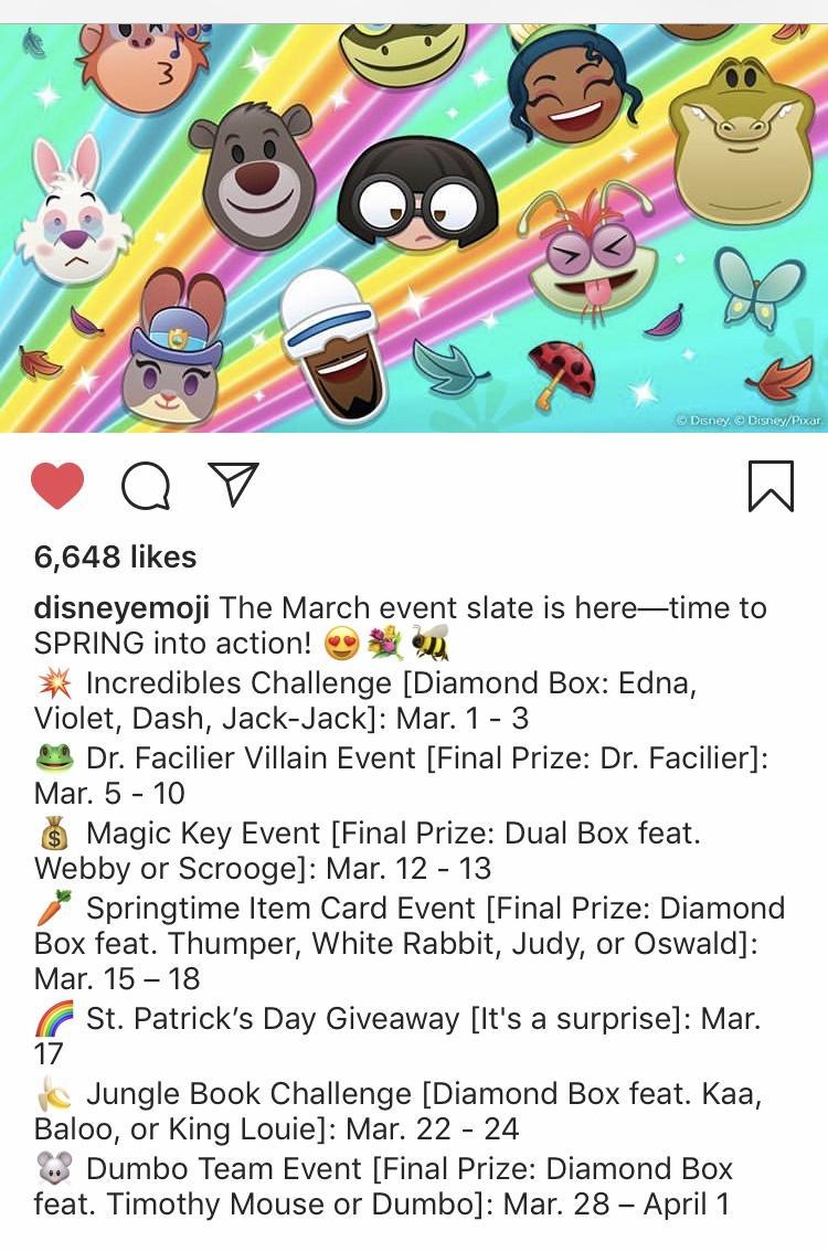 Event Slate For This Month! : Disneyemojiblitz inside Disney Emoji Blitz Events Calendar