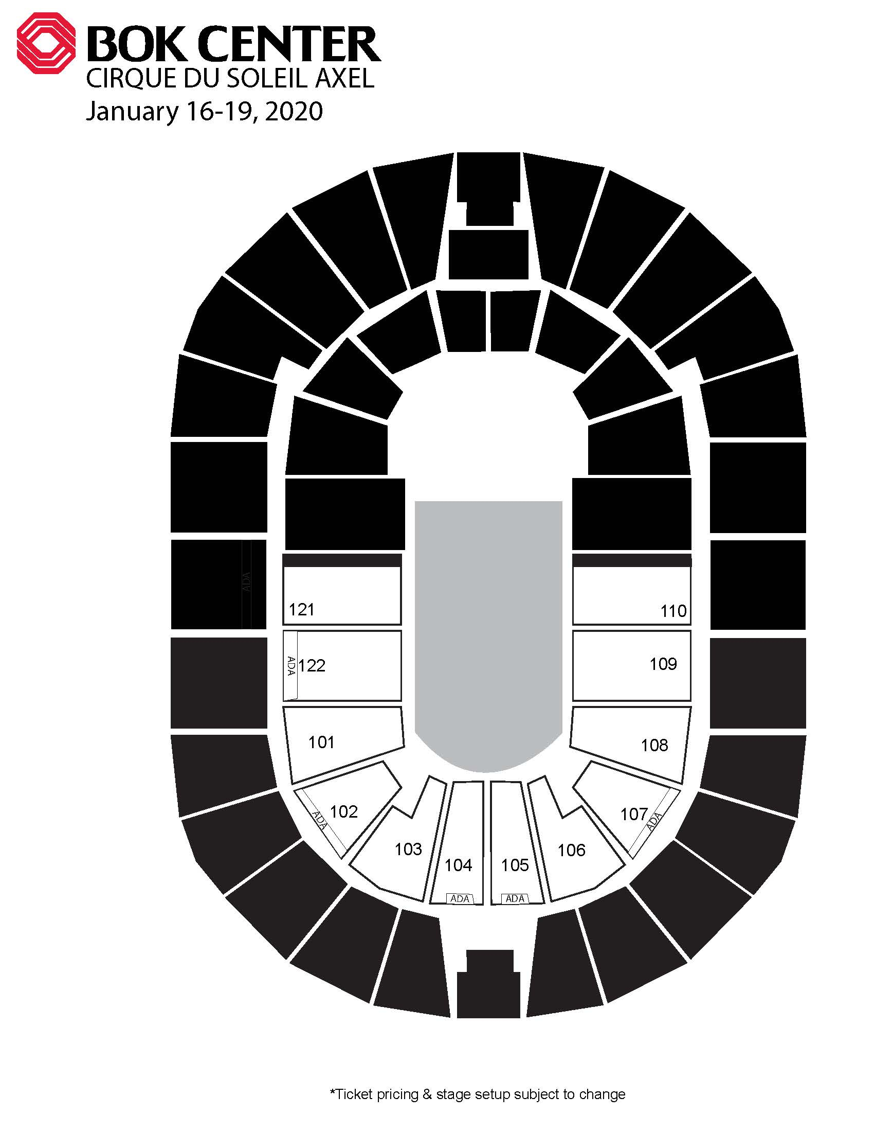 Events  Bok Center intended for Bok Center Seating Chart