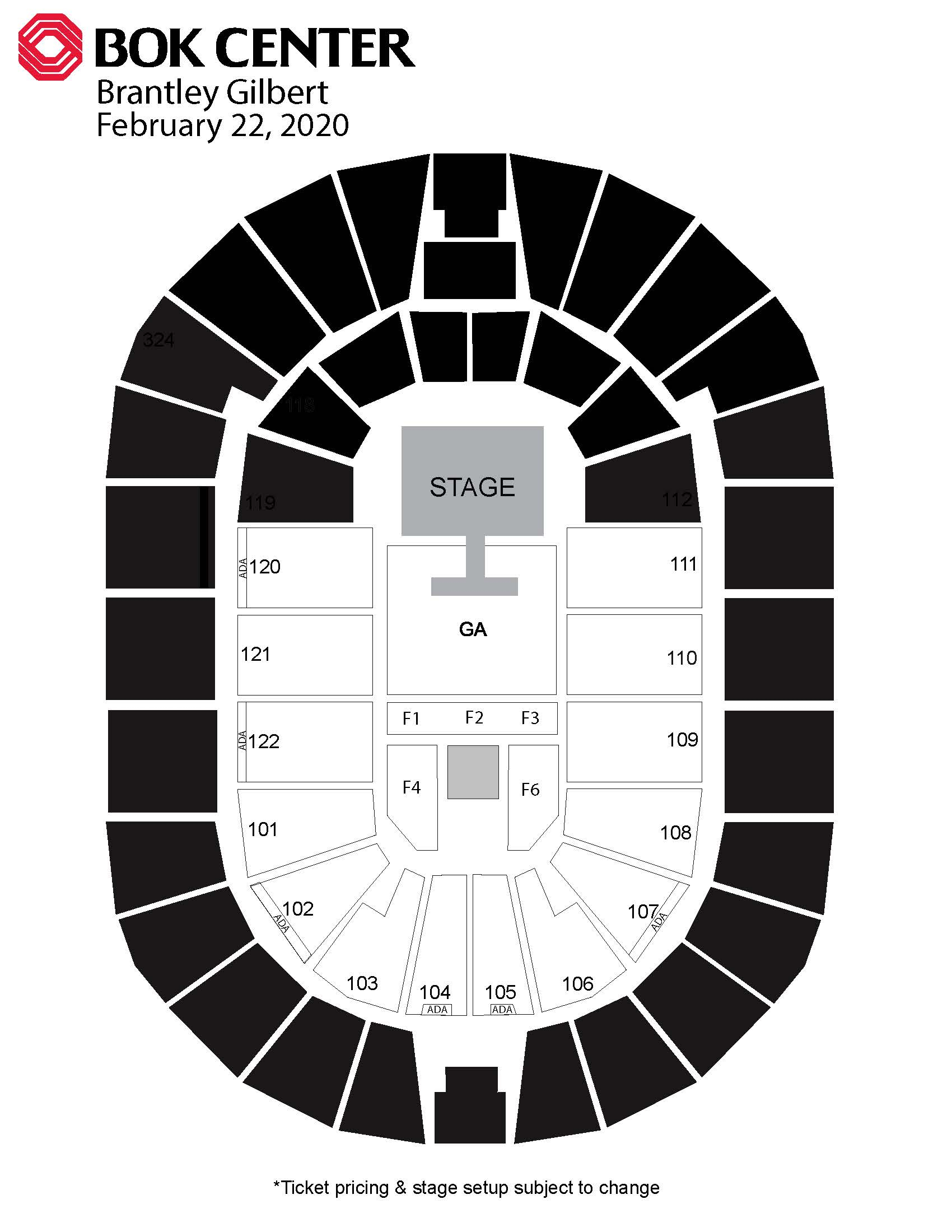 Events  Bok Center pertaining to Bok Center Seating Chart