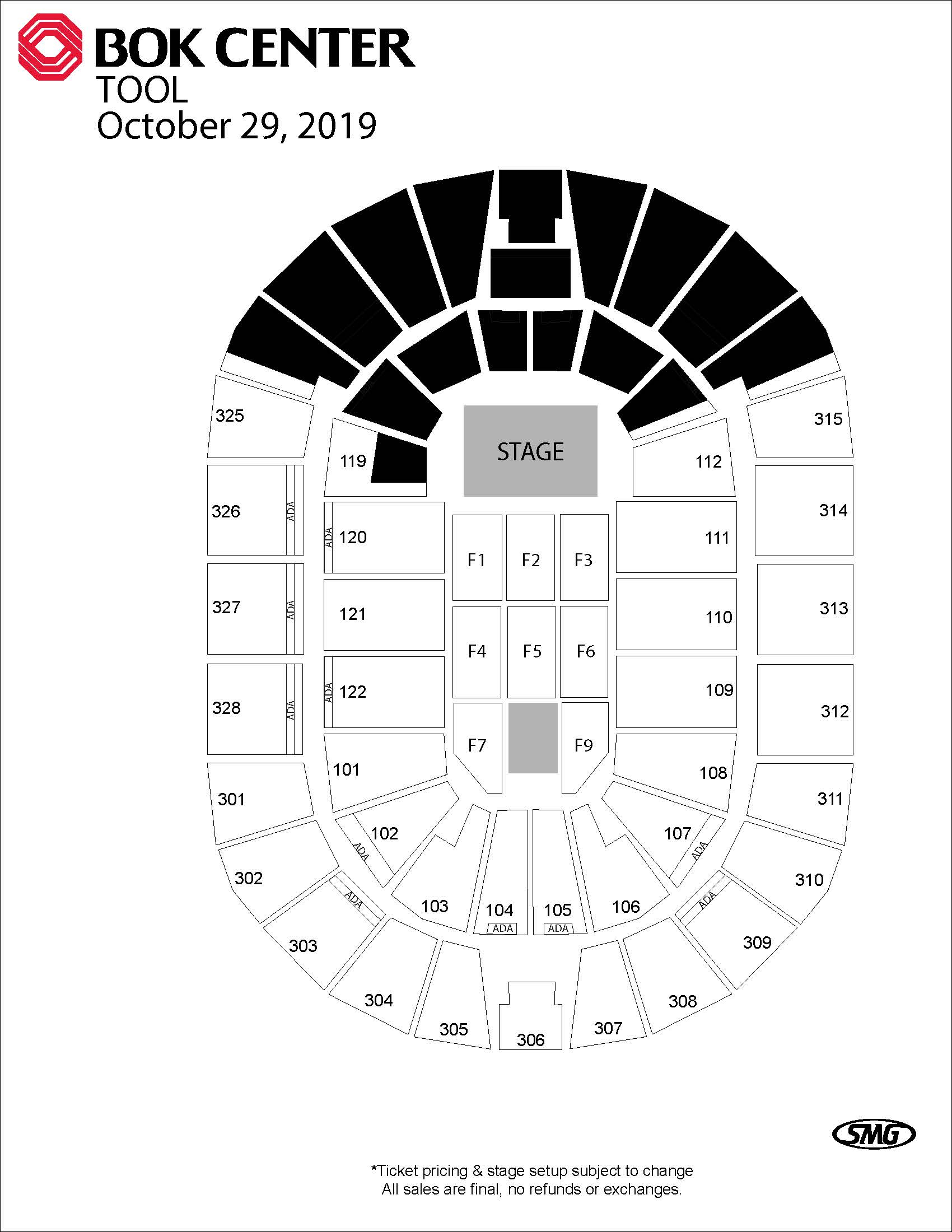 Events  Bok Center with Bok Center Seating Chart