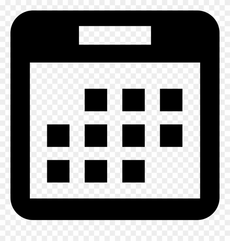 Events Calendar Comments  Events Icon White Png Clipart with regard to Calendar Icon White