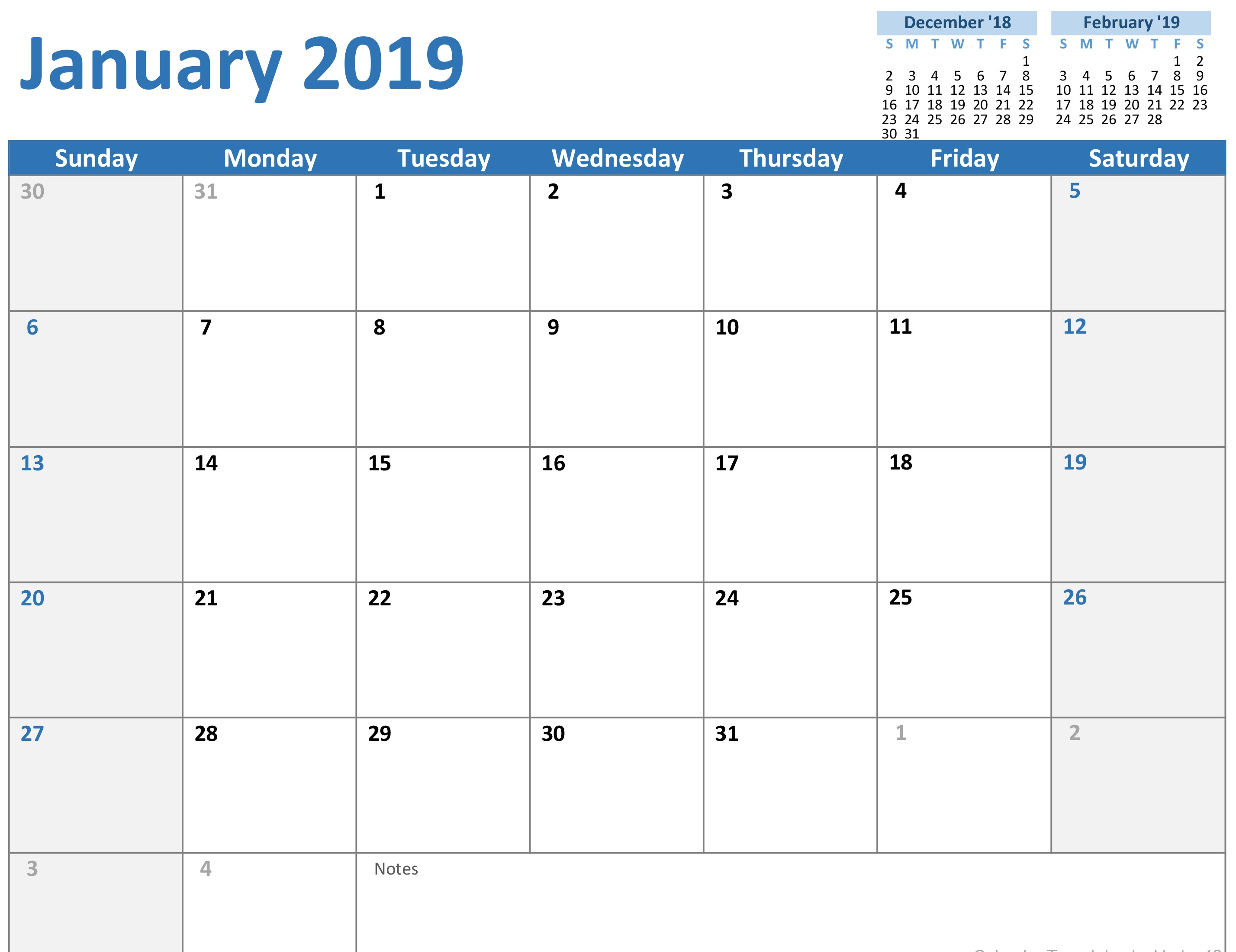 Excel Monthly Calendar Templates  Bolan.horizonconsulting.co with Calendar Excel Template