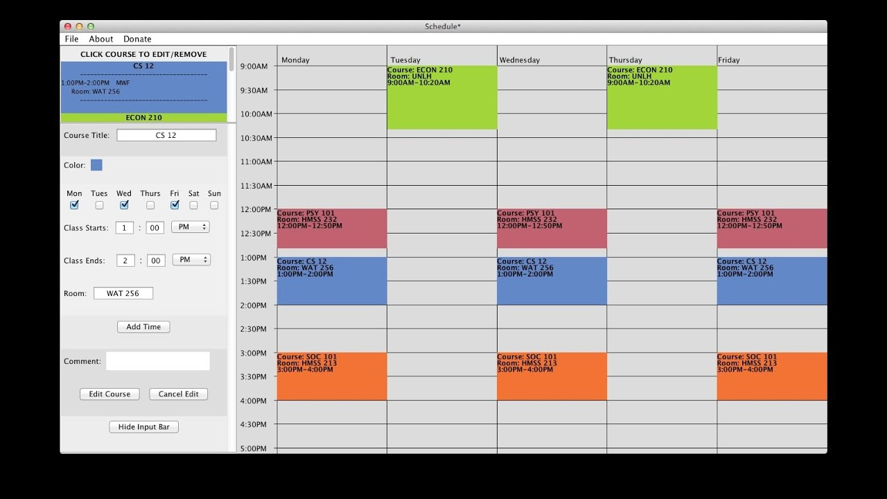 Excel Schedule Builder  Topa.mastersathletics.co pertaining to Employee Schedule Creator