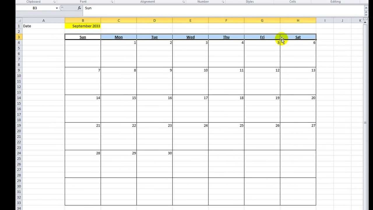 Excel Vba Tips N Tricks #16 Make A Calendar In Excel Vba pertaining to Excel Vba Calendar