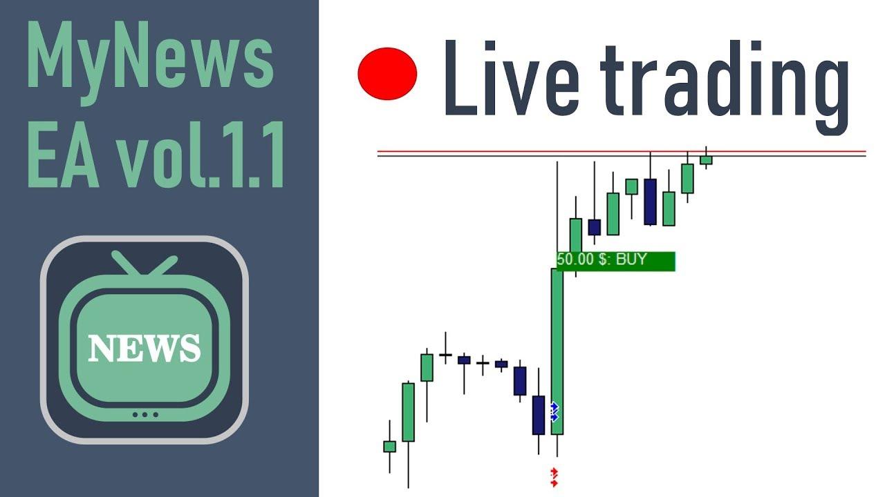 🔴 Mynews Ea 1.1 Forex Live Trading By Divergencefx💵 (Broker Jafx) inside Forexlive Economic Calendar