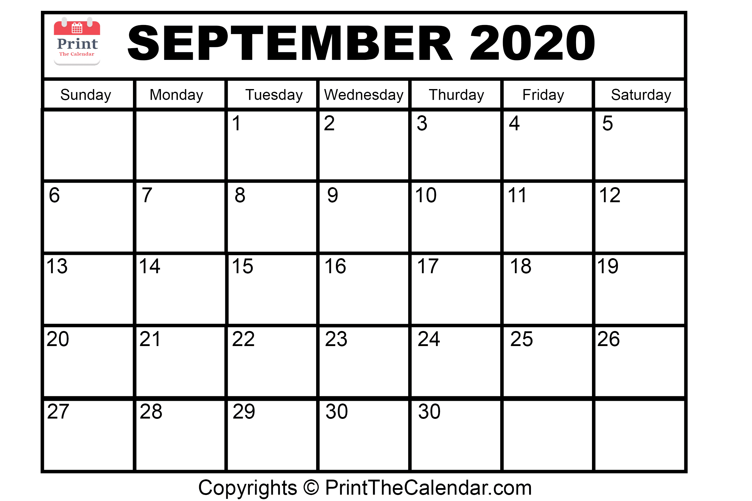 😃[Free}*^ September 2020 Printable Calendar For Word, Excel for Calendar August And September 2020
