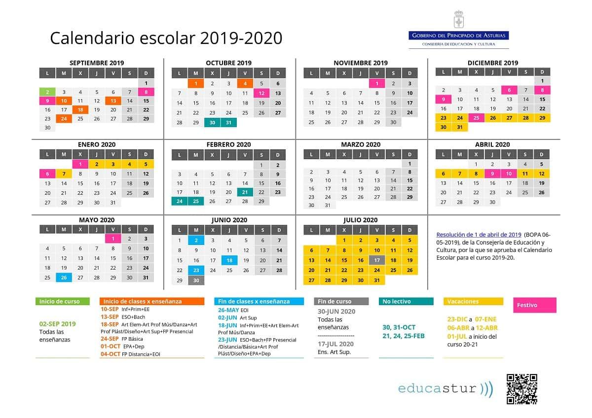 🥇 ▷ 20192020 Школьный Календарь Для Скачивания, Даты И within Sep Calendario 2020