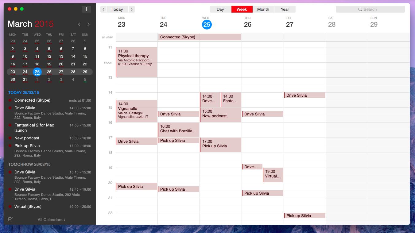 Fantastical 2 For Mac Review: Reinvented  Macstories in Wunderlist Calendar App