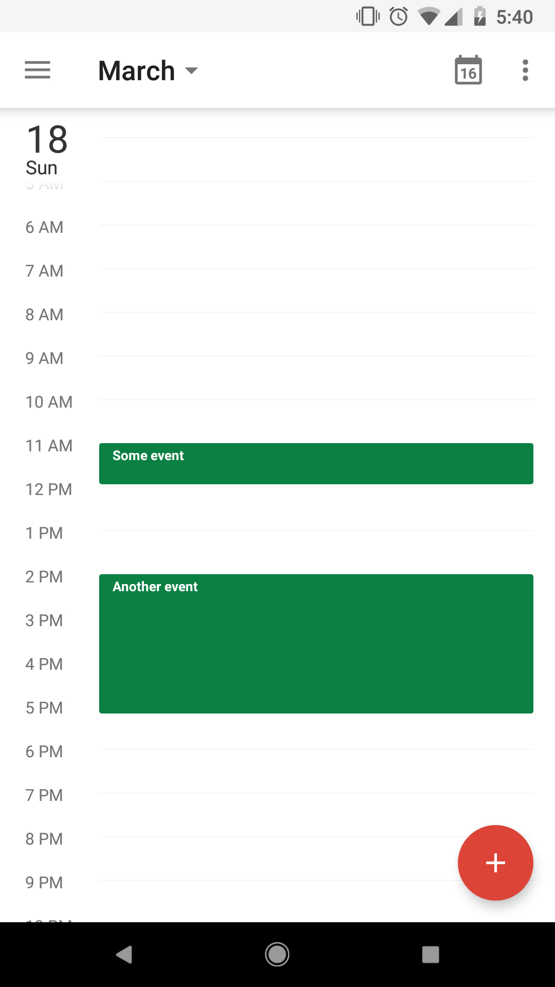 Feature Request] Looking For Free Time View On Agenda in React-Native-Calendars Agenda Example