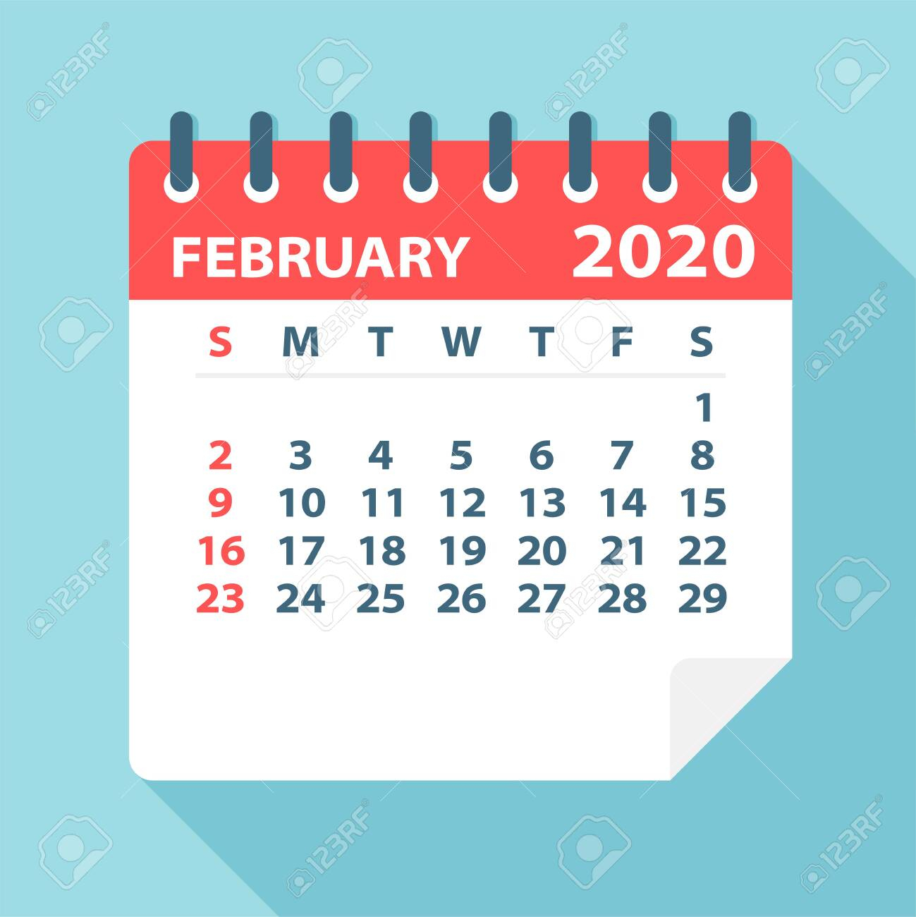 Feb Calendar 2020  Steas.celikdemirsan throughout Calendars Michel Zbinden 2020