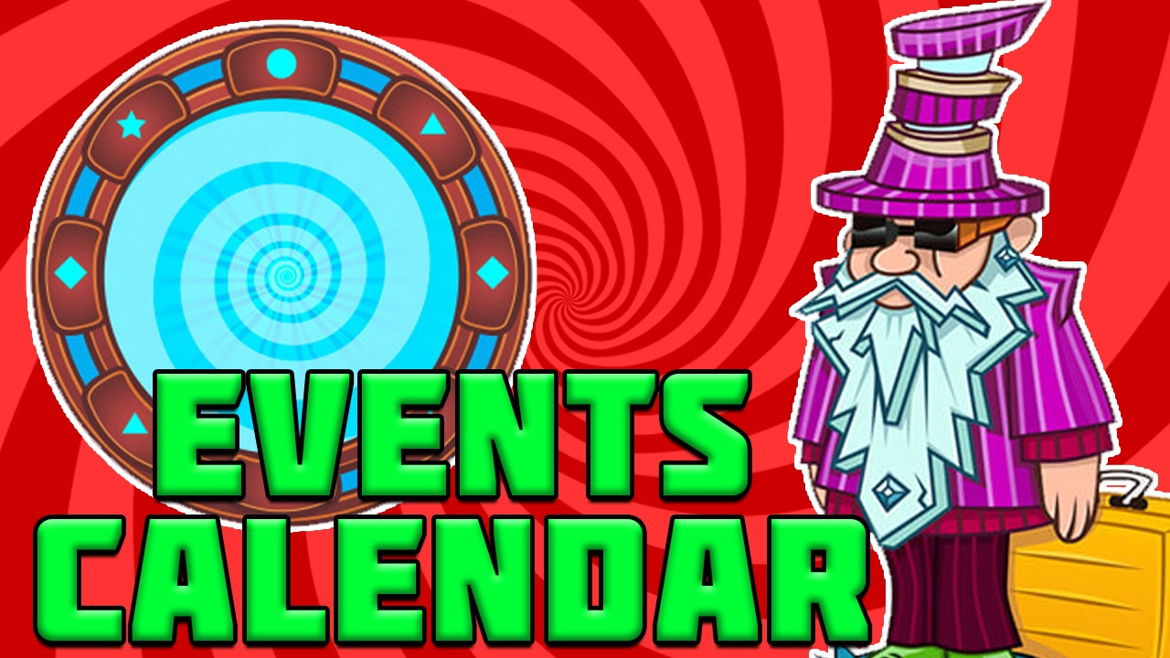 February Events Calendar  Plants Vs Zombies Garden Warfare 2 within Pvz Event Calendar