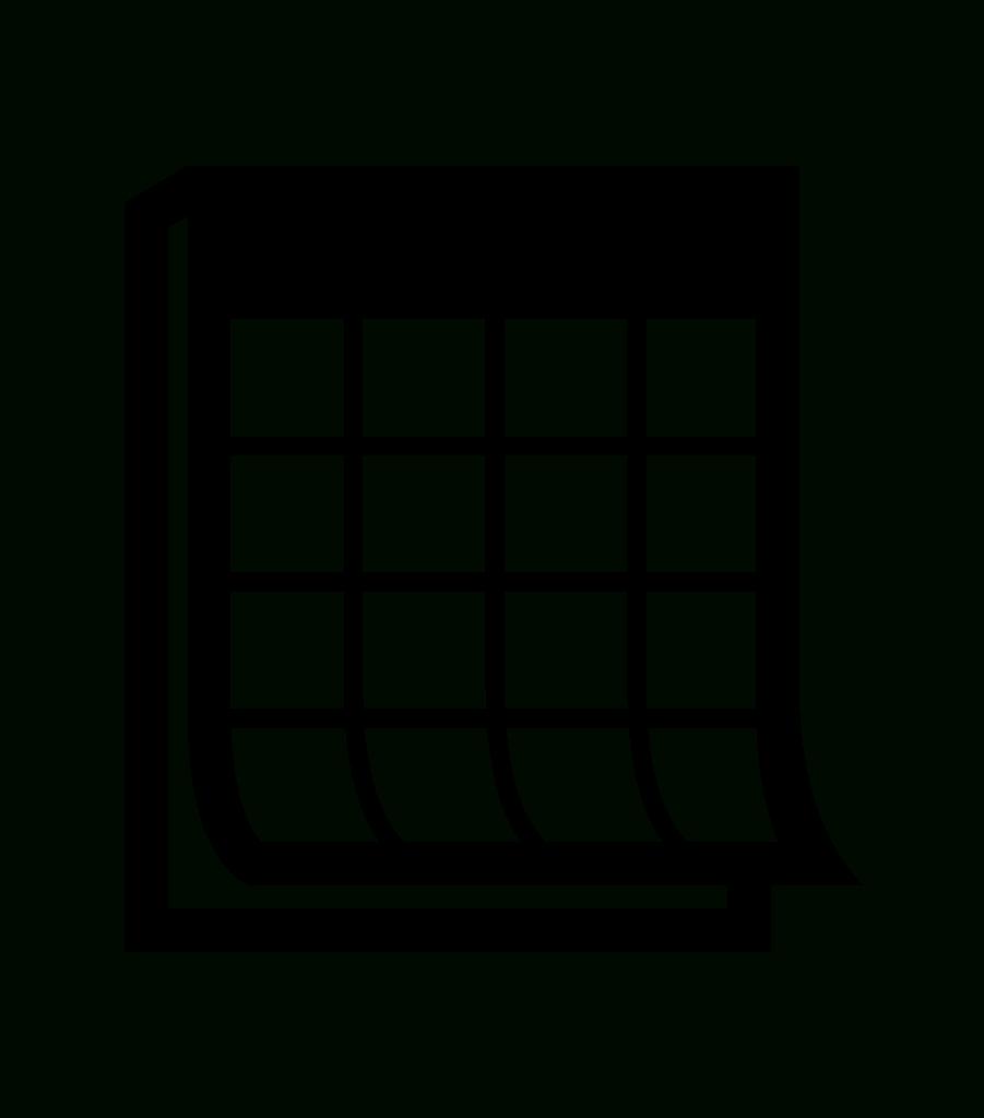 File:calendar Noun Project 1194.svg – Wikimania 2016 In with regard to Calendar Icon Noun Project