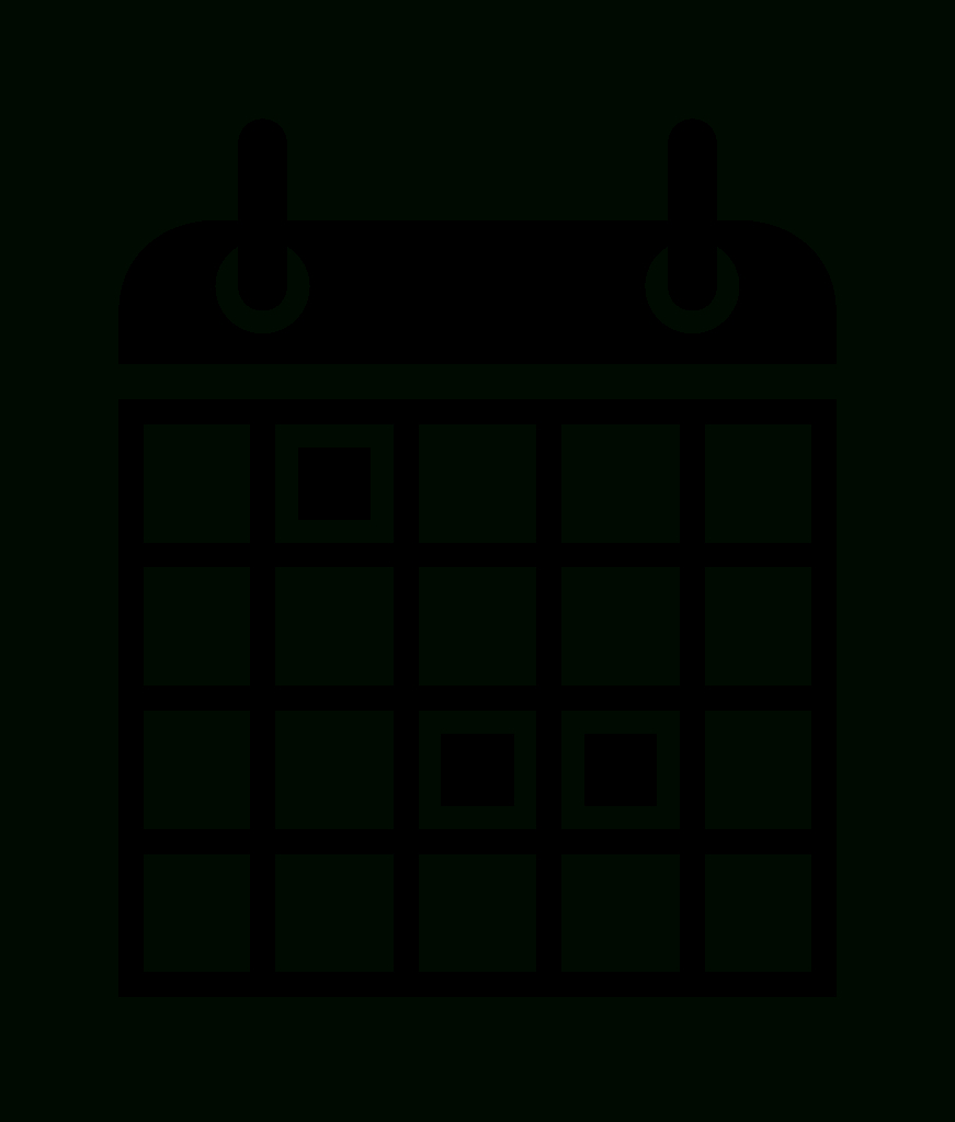 File:noun Project  Calendar.svg  Wikimedia Commons in Calendar Icon Noun Project