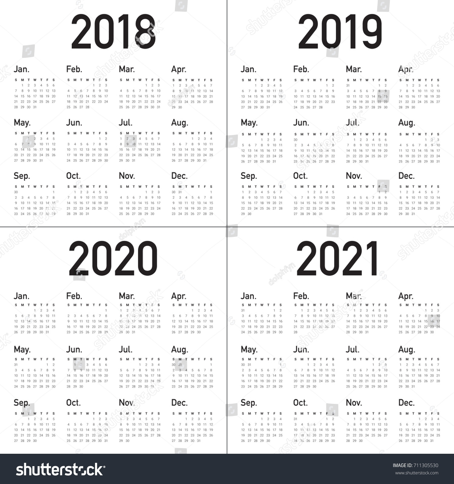 Fine 3 Year Calendar 2019 To 2021 : Mini Calendar Template regarding 3 Year Calendar Printable