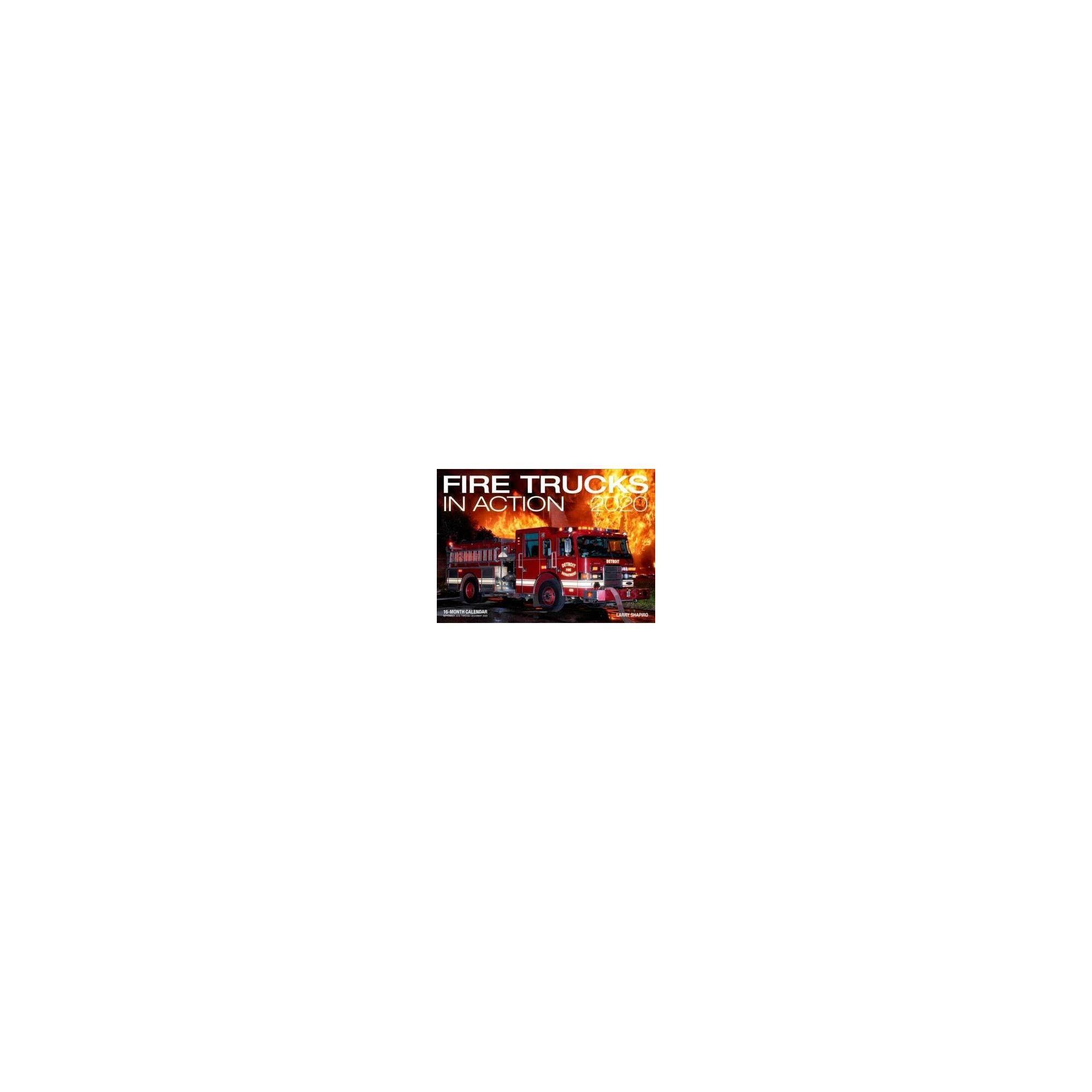 Fire Trucks In Action 2020 Calendar : Includes September pertaining to September Thru December 2020 Calendar