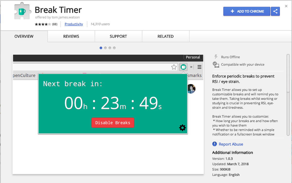 Five Free Apps To Help Remind You To Take A Break  Techrepublic within Desktop Reminder Gadget