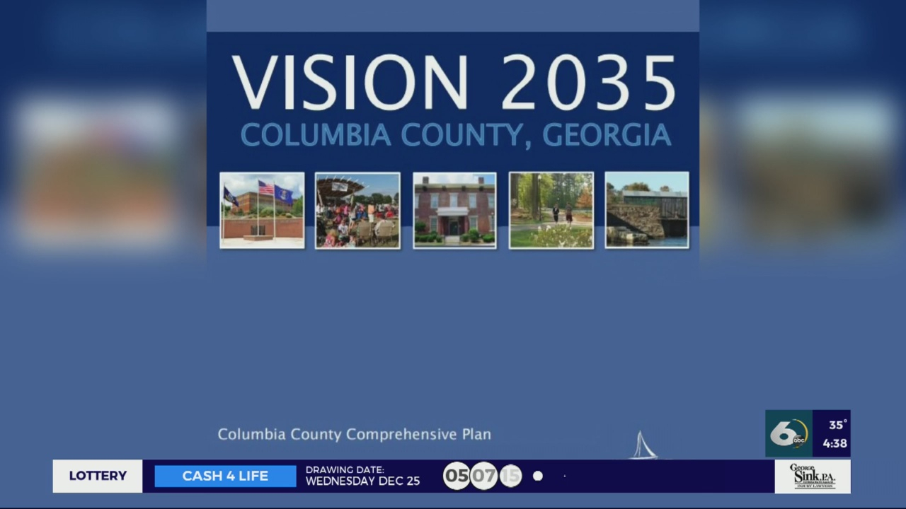 Fiveyear Update For Columbia County's Vision 2035 Plan | Wjbf within Columbia County Ga Calendar