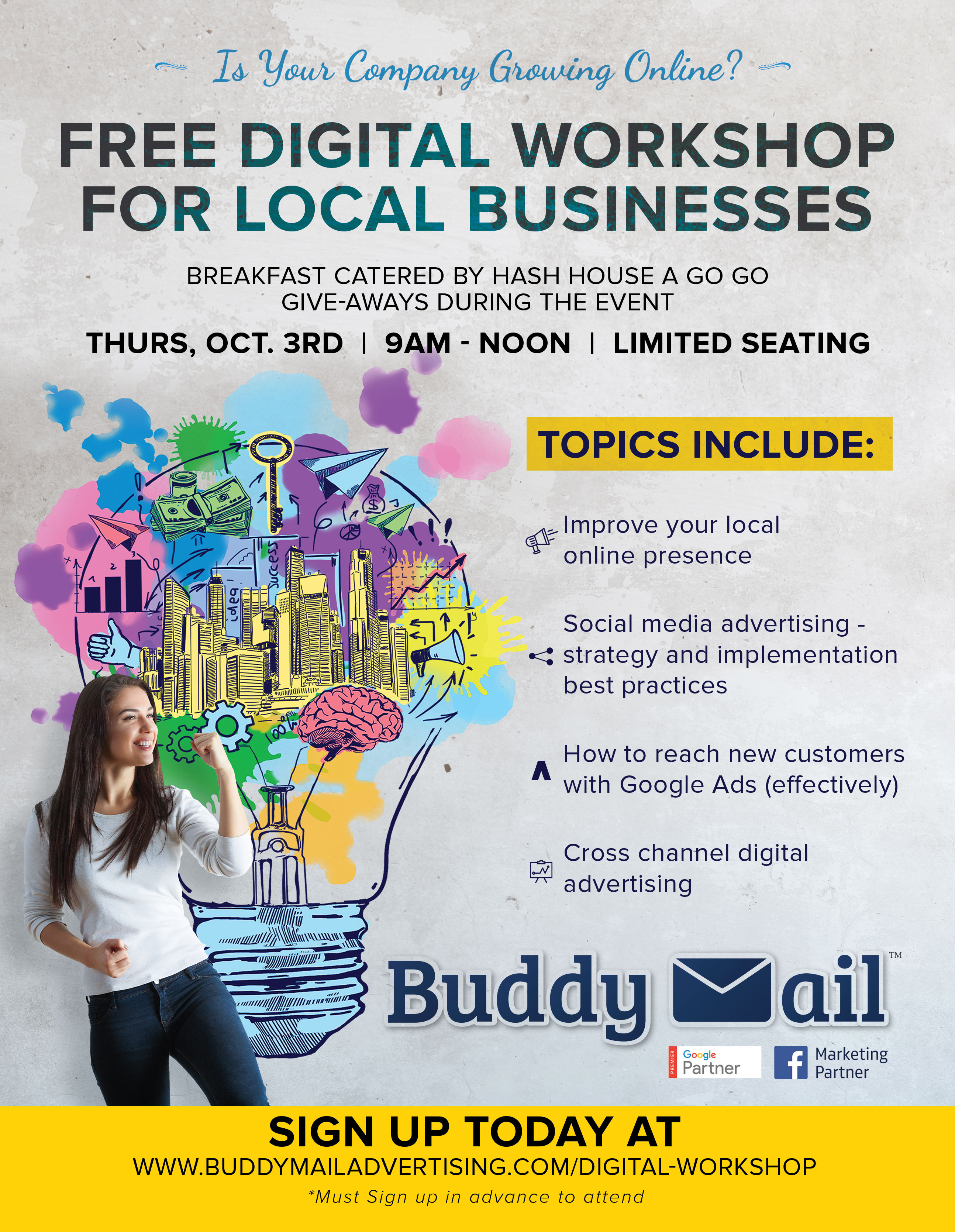 Free Digital Marketing Workshop  St. George Area Chamber throughout St George Economic Calendar