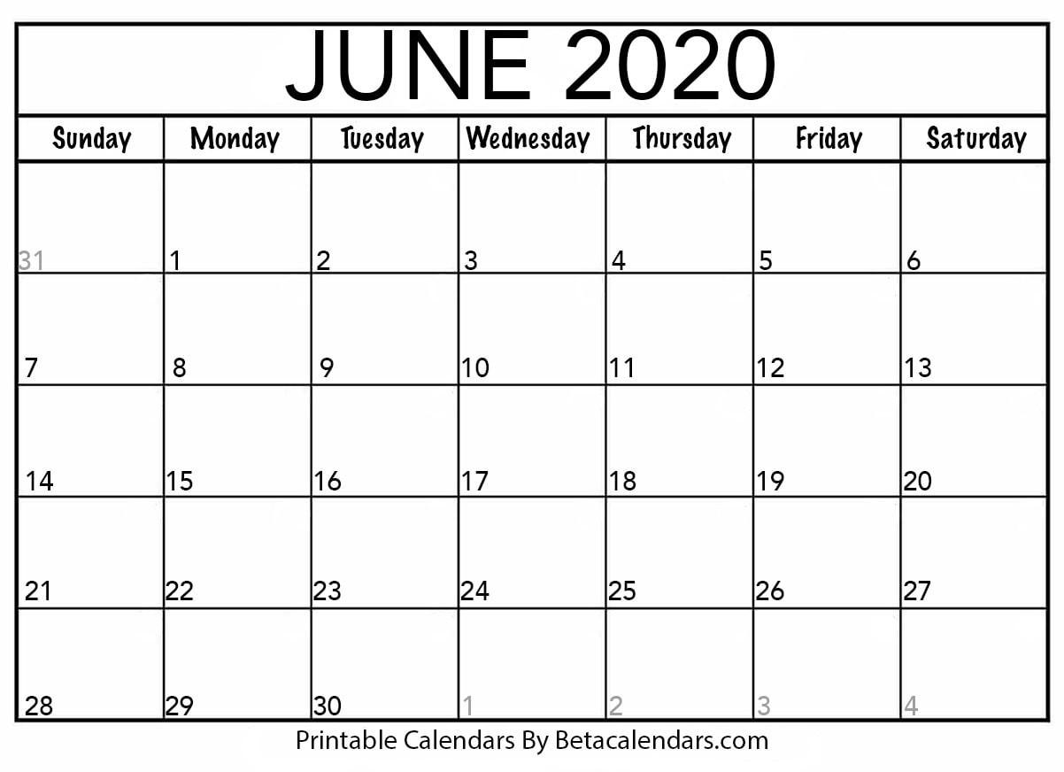 Free Disney Printable June 2020 Calender | Example Calendar in Printable Disney Calendar 2020