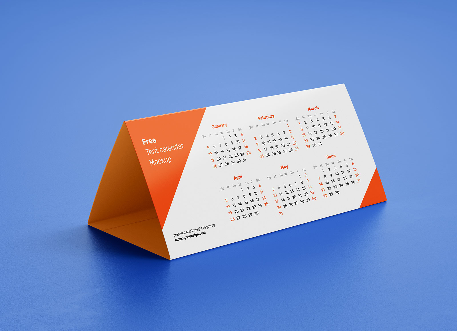 Free Dl Tent Desk Calendar 2020 Mockup Psd Set  Good Mockups with regard to 2020 Calendar Psd File