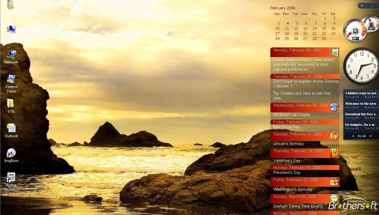 Free Download Active Desktop Calendar Download Active pertaining to Active Desktop Calendar 7.96