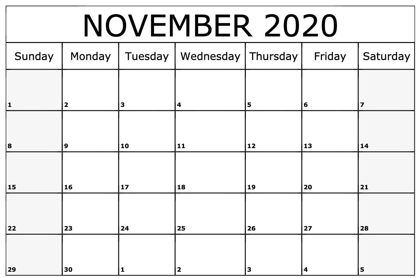 Free Download November 2020 Calendar Wallpapers Top November with regard to October & November 2020 Calendar