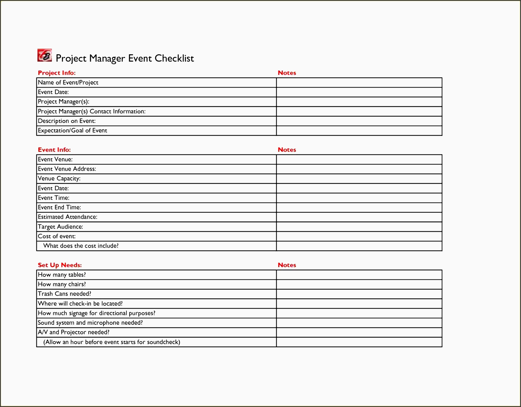 Free Event Planning Checklist Template Excel  Yatay with regard to Event Planning Template Excel