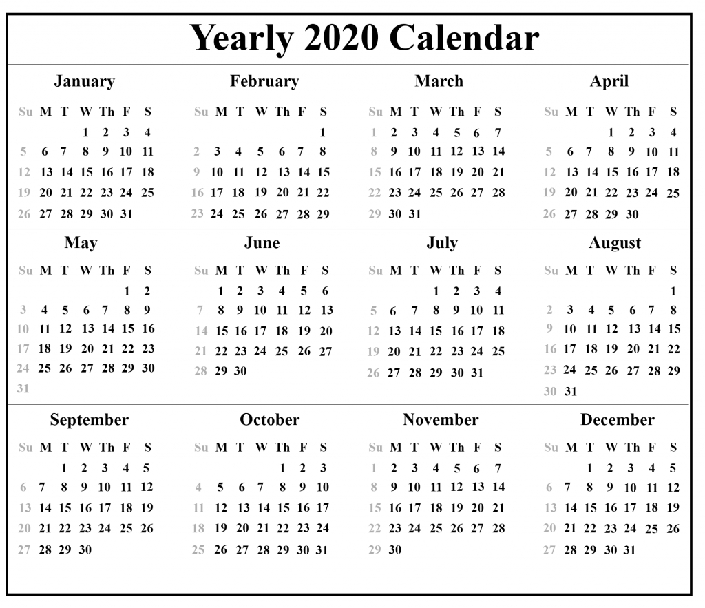 Free Malaysia Holidays Calendar 2020 Templates Pdf, Excel intended for Calendar Kosong 2020