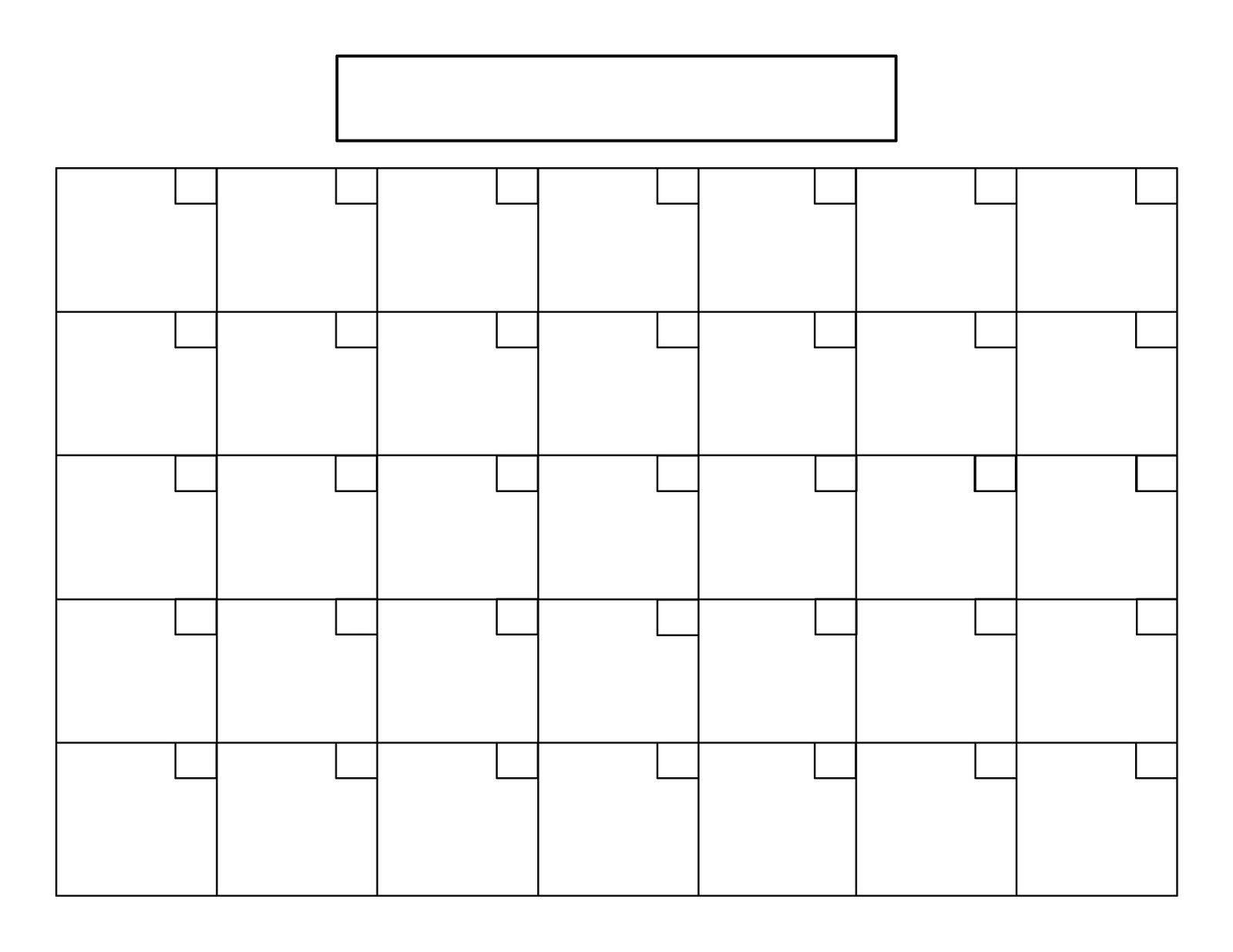 Free Printable 5 Day Calendar | Example Calendar Printable for Free Printable 5 Day Calendar