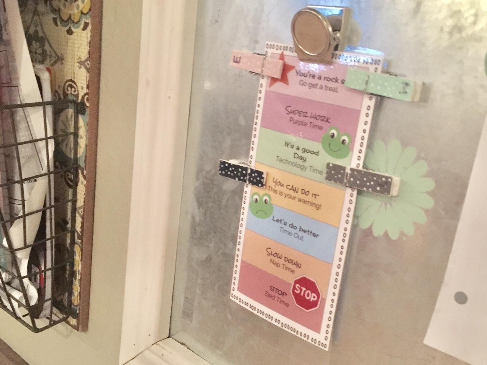 Free Printable Behavior Charts Behavior Plan For Large Families pertaining to Free Printable Behavior Charts For Kindergarten