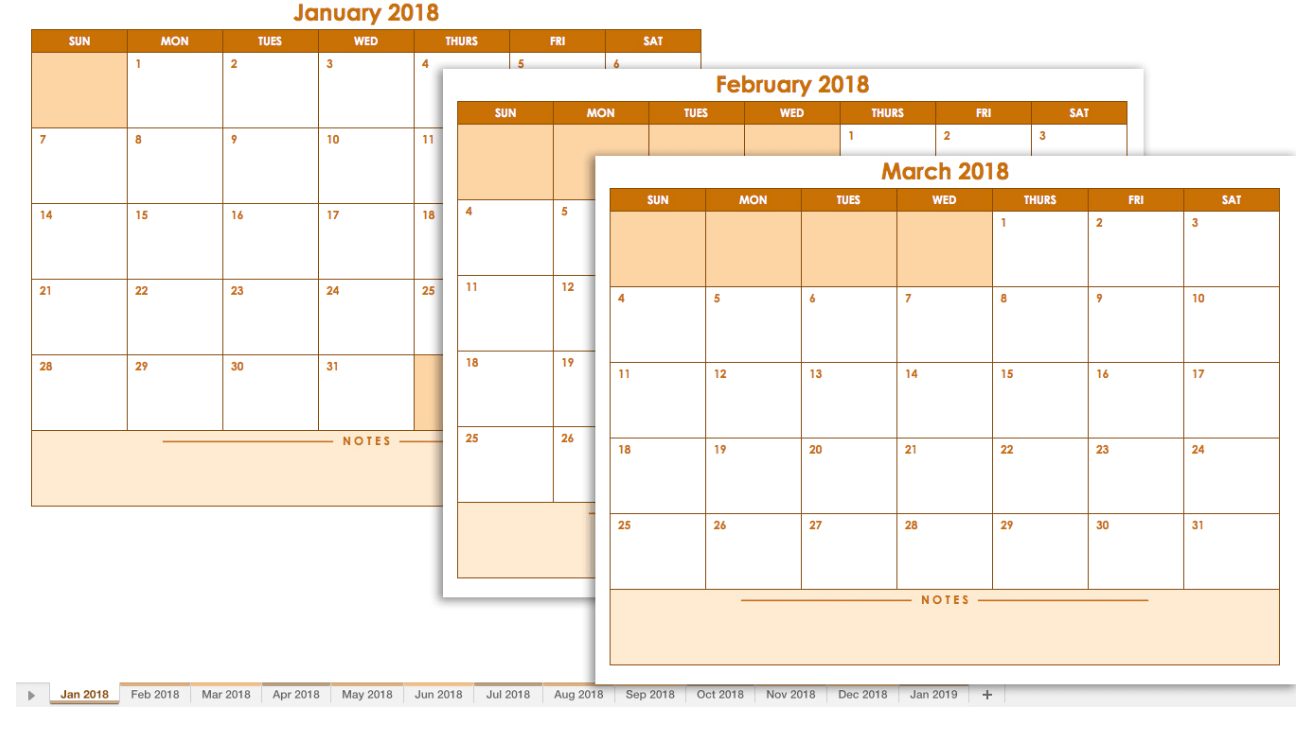 Free Printable Blank Calendar 2020 for Smartsheet 2020 Calendar