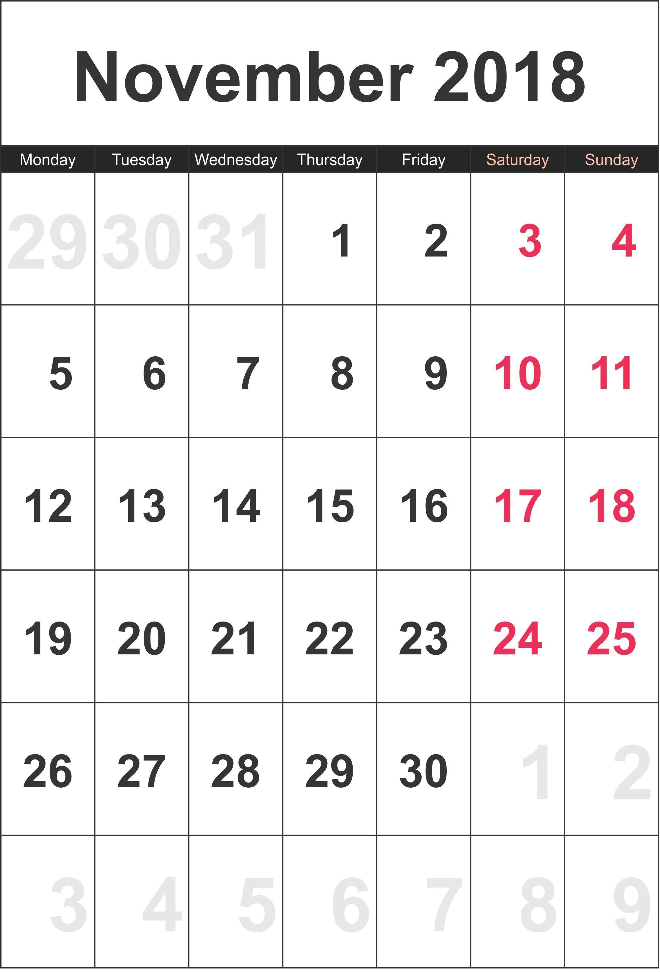 Free Printable Monthly Calendar 2019 Australia  Australia within 2018 Calendar Australia Printable