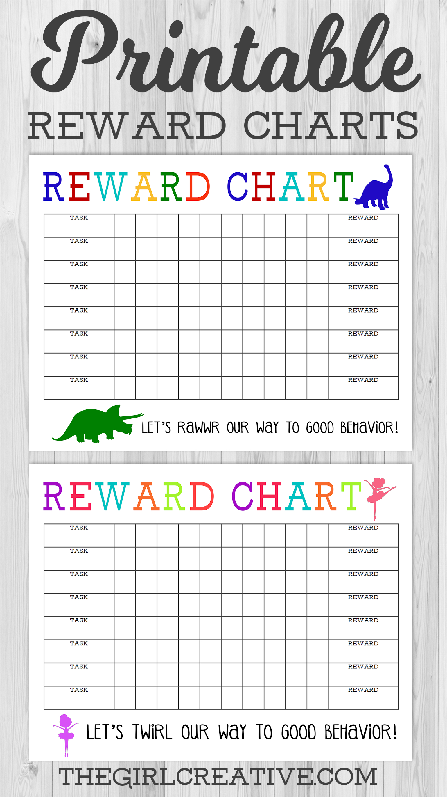Free Reward Charts For Behaviour  Bobi.karikaturize within Monthly Sticker Chart
