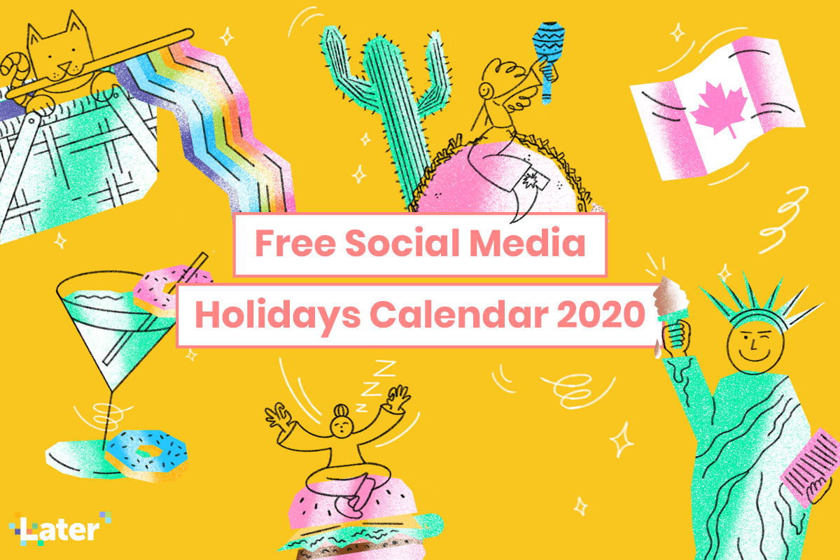 Free Social Media Holidays Calendar For 2020 within The Ultimate Social Media Holiday Calendar For 2020