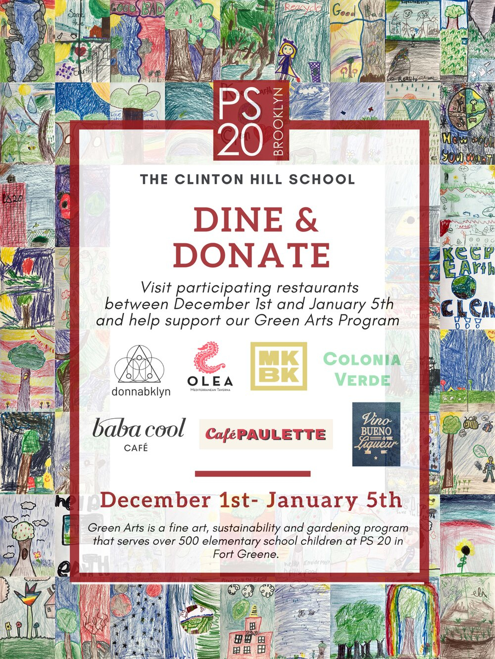 From Dec 5Th, 2019 To Jan 5Th, 2020 'dine & Donate' For with regard to Nyc Alternate Side Parking Calendar 2020