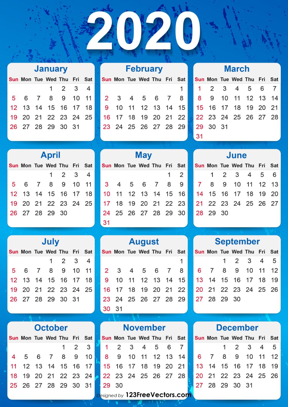 From Igdrus Gallery, Pinterest2020Yearlycalendar intended for December Calendar 2020 Pinterest