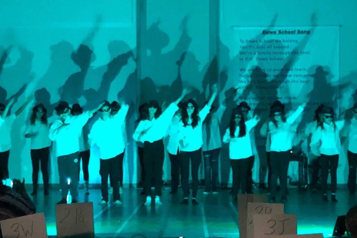 G. H. Dawe School Dancers Celebrate Last Day Of School – Red inside G.h. Dawe School