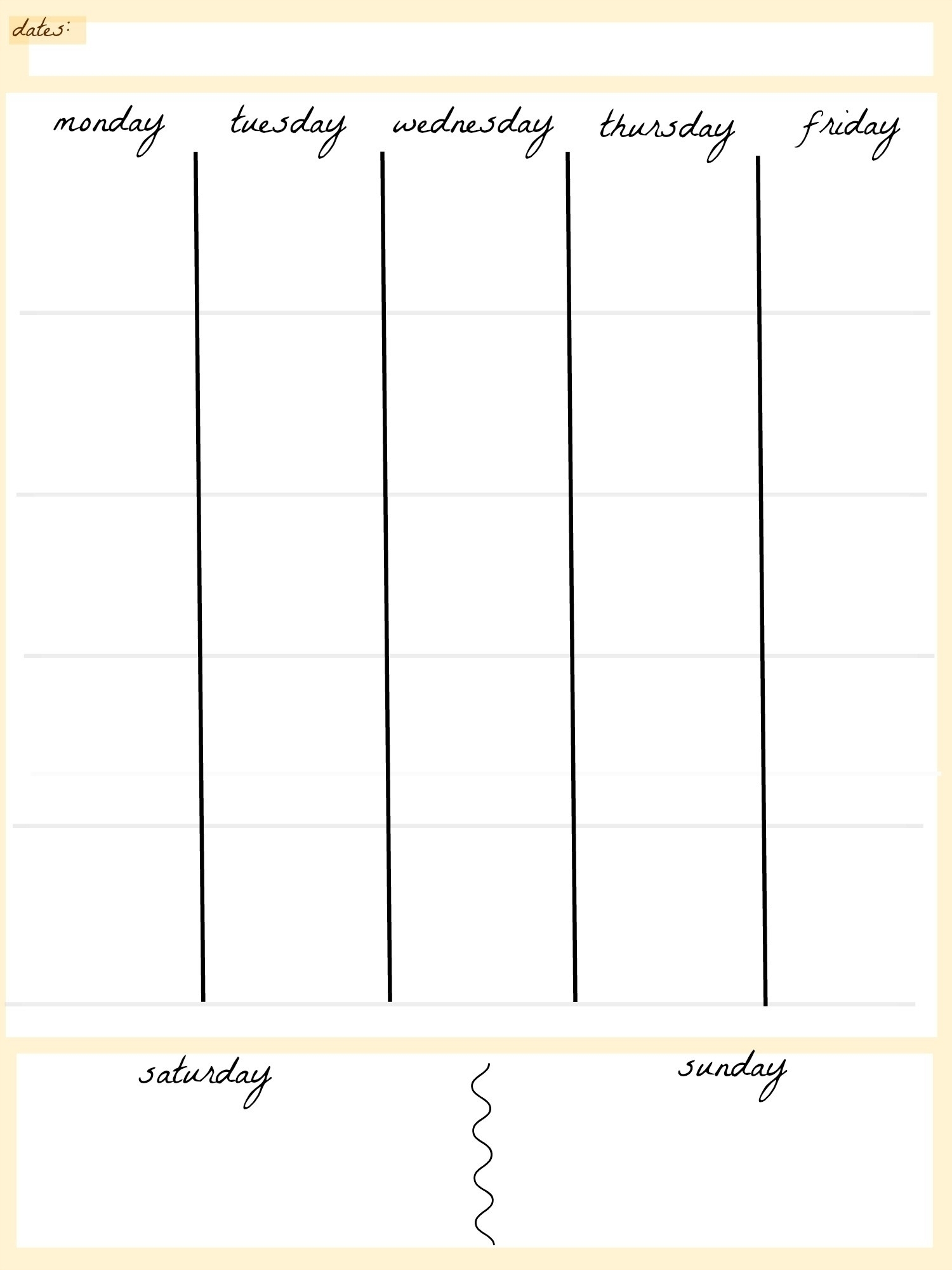 Good Free Printable 5 Day Calendar Template : Mini Calendar within 5 Day Weekly Calendar
