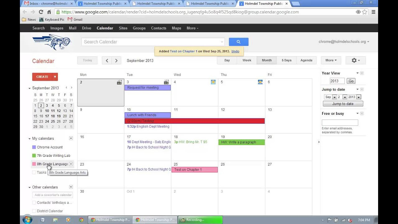 Google Calendar  Add And Event To A Specific Calendar for Google Calendar Add Image