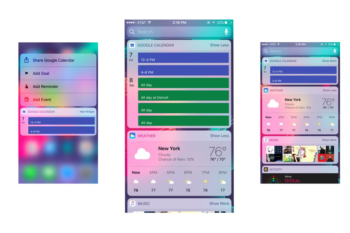 Google Calendar Gets An Ios Widget, Nearly Three Years After pertaining to Calendar On Lock Screen Iphone