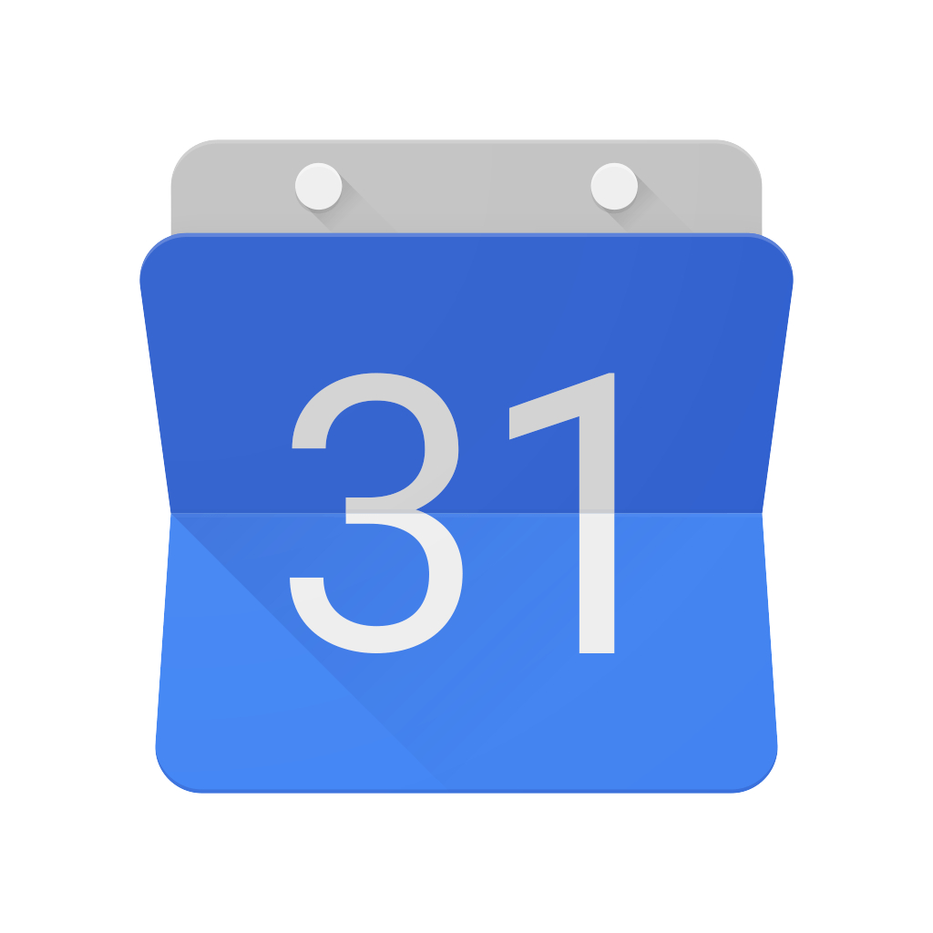 Google Calendar Icon In (.eps + .ai) Vector Free Download intended for Calendar Icon Psd