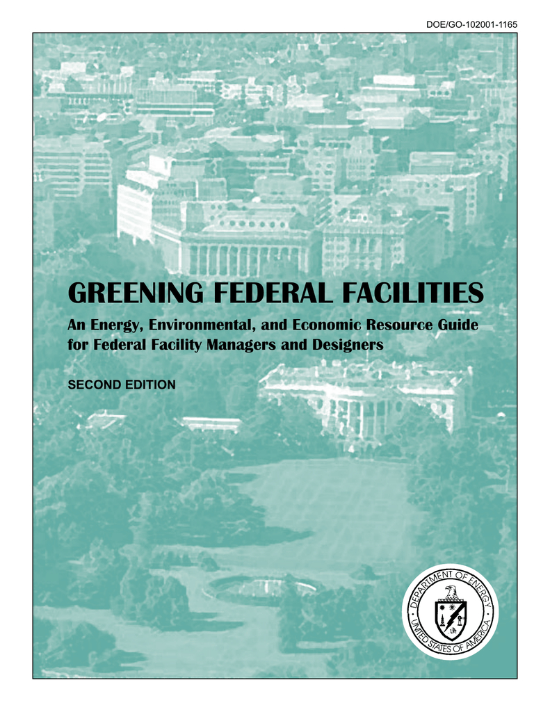 Greening Federal Facilities An Energy, Environmental, And intended for Zinco Corp Was A Calendar Year S Corporation