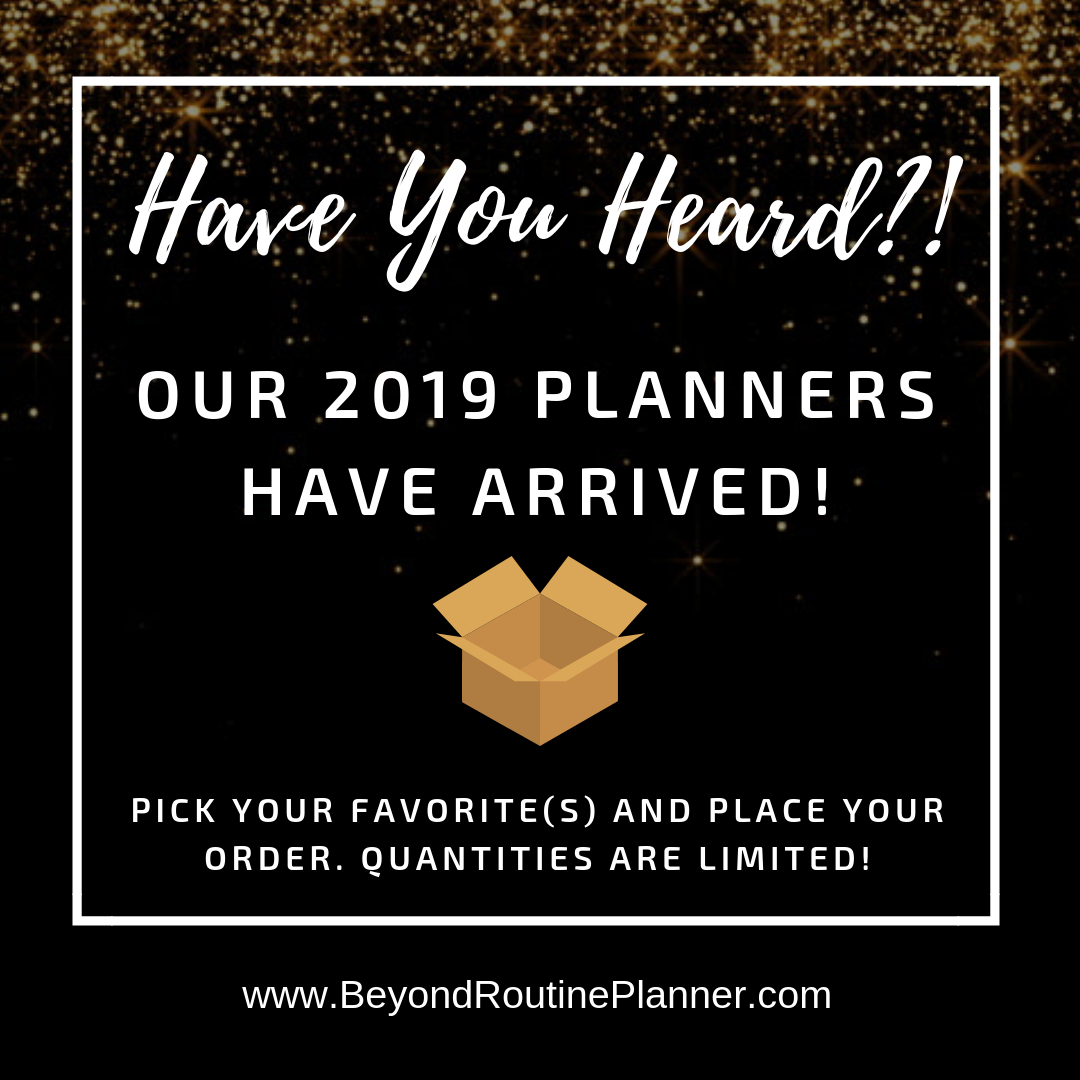 Have You Heard The Good News? 📢  Our 2019 Planners Have for Good News Planners