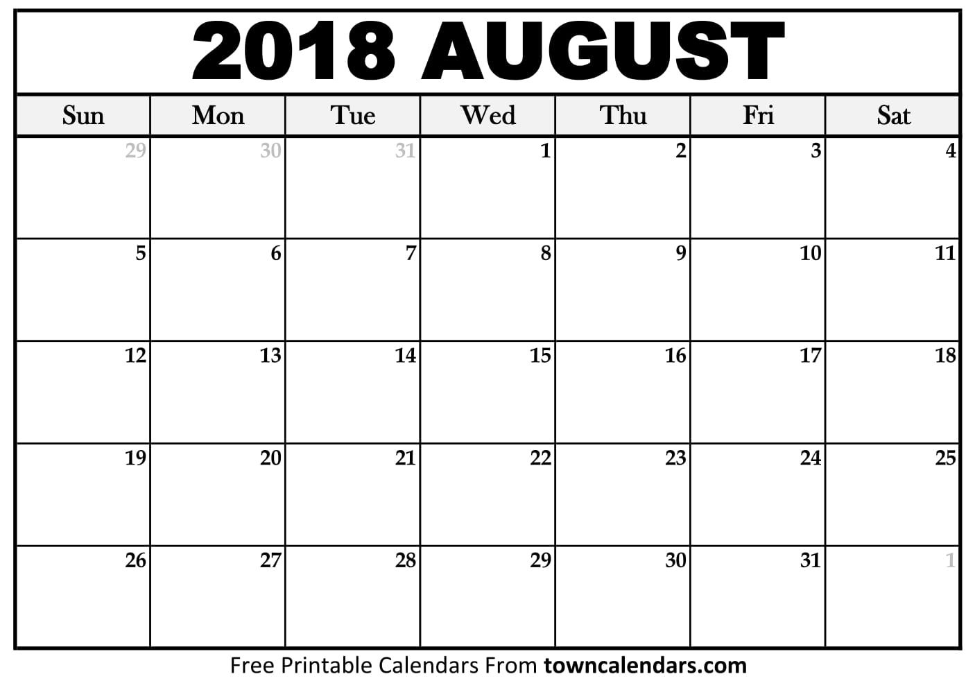 Here Comes The Last Month Of Summer Session. It Is The within 2018 Julian Calendar