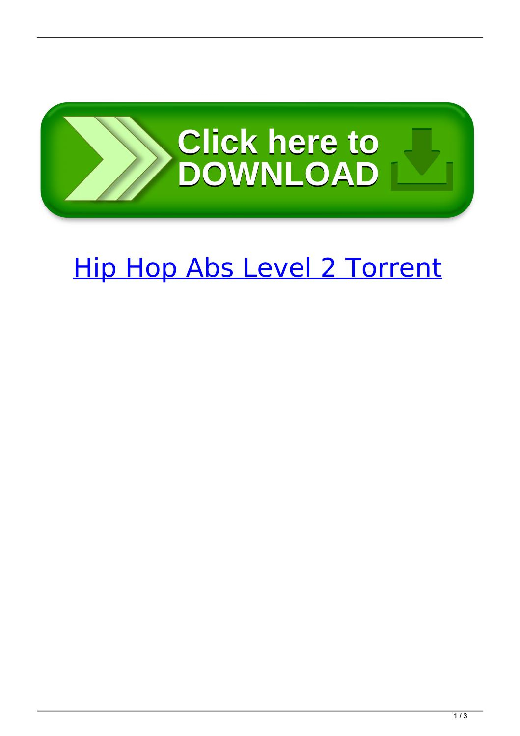 Hip Hop Abs Level 2 Torrent By Hamsdignichi  Issuu with regard to Hip Hop Abs Month 2